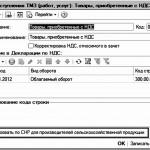 Особенности формирования налоговой формы 300 «Декларации по налогу на добавленную стоимость» по СНР