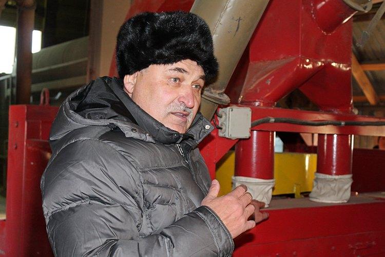Владимир Астафьев рассказывает об особенностях машин для зерноочистки