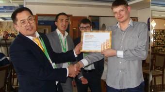 Победитель агроолимпиады Сергей Федоренко