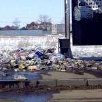 Поселок Косшы Акмолинской области утопает в мусоре (фото)