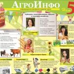 """Инфографика: """"АгроИнфо"""" 5 лет (сотрудники и о сотрудниках)"""