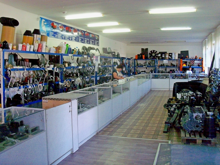 Магазин запасных частей 750х562