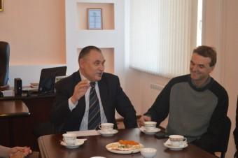Владимир Астафьев (слева) Джон Герер (справа) - копия