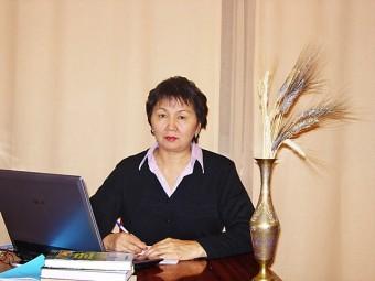 Кохметова Алма Мырзабековна, д.б.н., профессор, заведующая лабораторией генетики и селекции Института биологии и биотехнологии растений