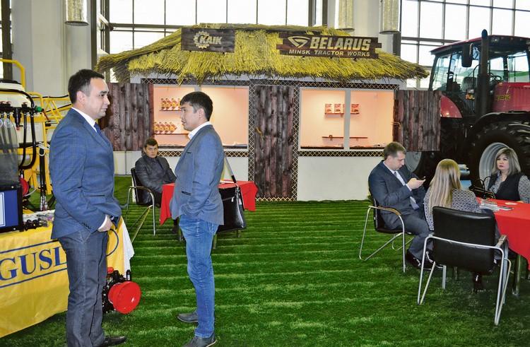 Оригинальный стенд ТОО «Казахстанская АгроИнновационная Корпорация»