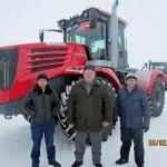 В Казахстане первый трактор для весенне-полевых работ 2017 года  поставлен в Акмолинскую область