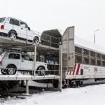 Первые вагоны с LADA 4×4 и надписью «Қазақстанда жасалған» ушли в Китай