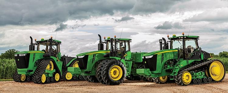 Тракторы Джон Дир 9 серии