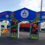 Почти 400 тонн продуктов реализовали актюбинские сельхозпроизводители в рамках «ЭКСПО-2017» в г. Астана