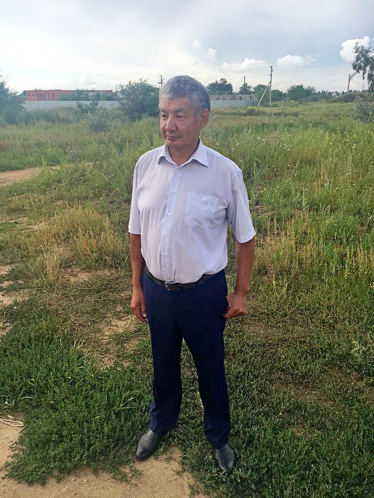 председатель СПК Жалгас - Нурканов Жазылбек