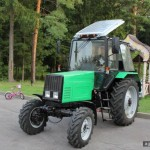 В Беларуси готовятся создать электротрактор и трактор-трансформер
