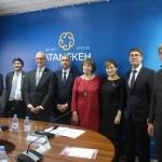 Продукция костанайских предпринимателей отвечает современным трендам – Посол Франции Филипп Мартинэ