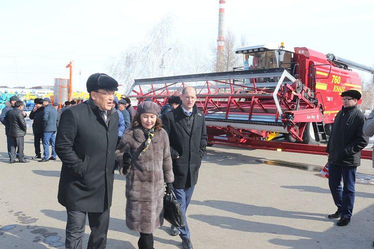 Фото: пресс-служба АО «АгромашхолдингKZ»