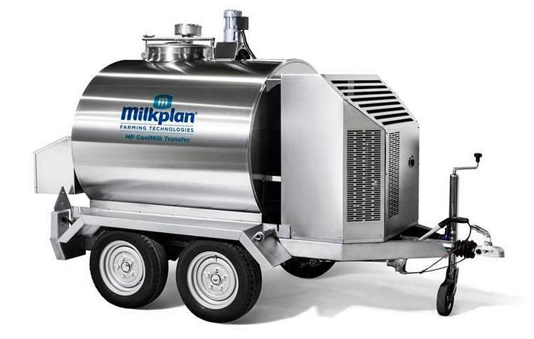 Фото 1. Прицеп для сбора и перевозки молока Milkplan