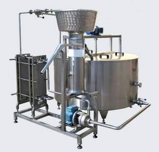 Фото 4. Технологическая платформа для переработки молока