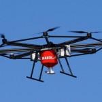 Прошёл испытания первый в мире летающий разбрасыватель удобрений