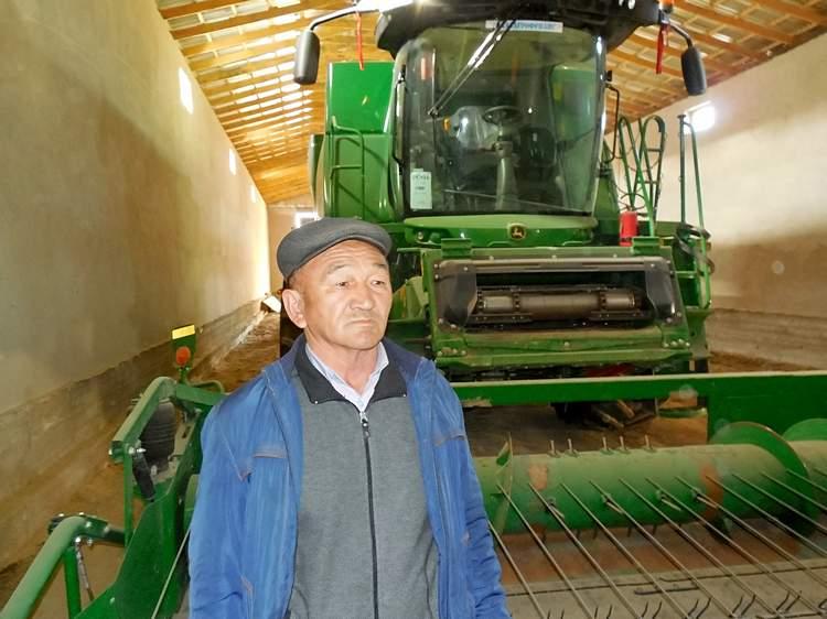Председатель КХ «Халык» Халыкберды Мыханов / Фото: Максут Ибрашев