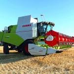 Высокая урожайность втрое снижает расход топлива комбайна TUCANO 580