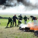 2 800 гектаров степи загорелось в Актюбинской области