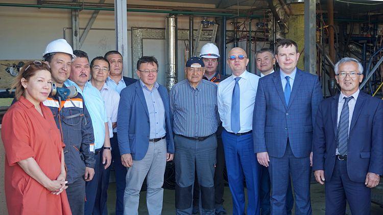 Участники проекта – представители ЧУ «Nazarbayev University Research and Innovation System» и АО «Самрук-Энерго» / Фото: «Самұрық-Энерго» АҚ Үкіметпен байланыс және коммуникациялар офисі