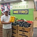 Фермеры Чилика представили свою продукцию в METRO