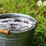 В Костанае в частном секторе забил горячий источник