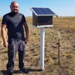 Фермер из ЗКО пасёт коров с помощью смартфона и электропастухов