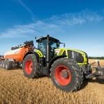 Аграрии получат двойную экономию топлива с новым трактором Claas Axion