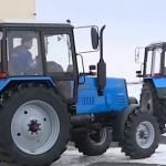 Первая сотня тракторов сошла с конвейера на заводе в Костанае