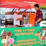 Мороженое из верблюжьего молока производят в Кызылординской области