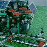 Ученики Назарбаев интеллектуальной школы создали робот-комбайн