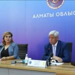 «Вместе восстановим Арысь!» – аким Алматинской области Амандык Баталов