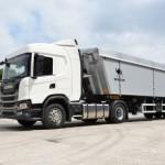 Scania представила новый зерновоз