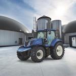 New Holland представляет первый в мире серийный трактор T6 с силовой установкой на метановом топливе
