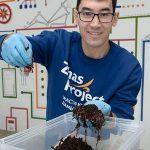 Молодой предприниматель открыл первую в Костанайской области вермиферму