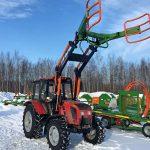 КРМЗ адаптировал фронтальный погрузчик FRONTLIFT к трактору BELARUS-952.3