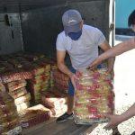 20 тонн продуктов питания отправил в Мактааральский район Северный Казахстан