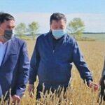 Министр сельского хозяйства ознакомился с ходом уборочной кампании в Акмолинской области