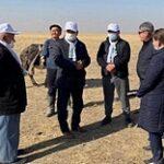 «Ауыл» партиясының мүшелері Түркістан облысындағы малшылардың мәселесін көтерді